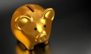 Gold Piggy Bank Banking Recruiters