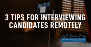 computer on desk tips for interviewing remotely