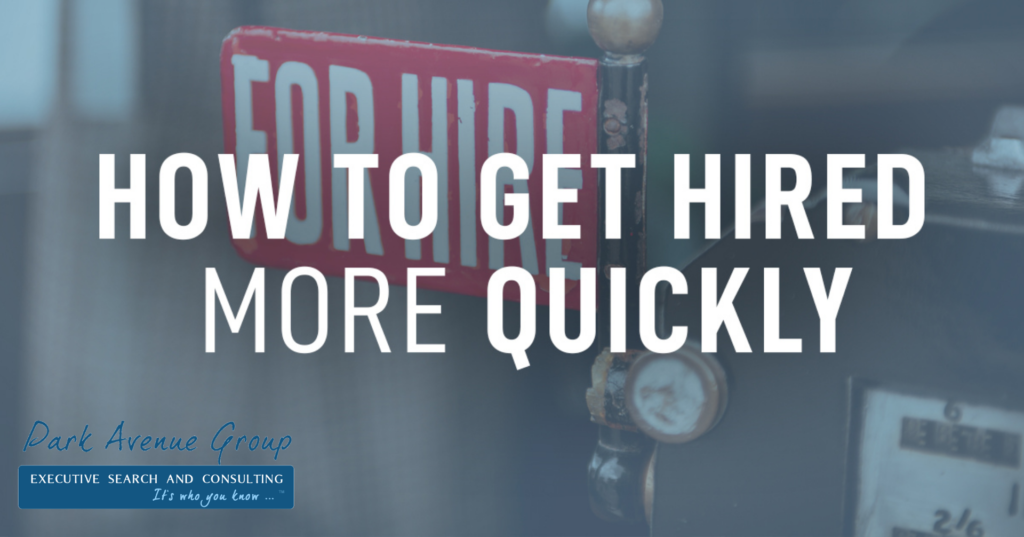 for hire sign how to get hired more quickly